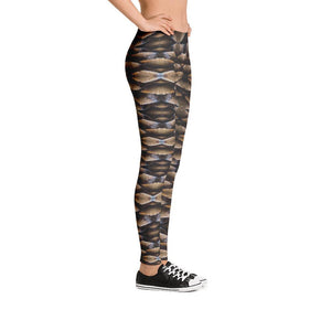 women's yoga apparel-Pinecone Illusion Standard Yoga Pants-Fitness Wear, yoga pants, $30-$50-And Above All...YOGA