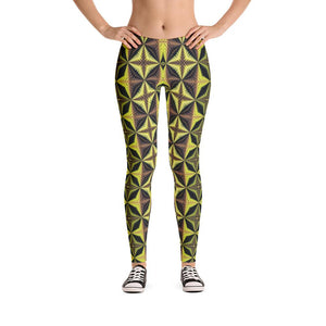 """Yin and Yang"" Made to Order Standard Yoga Pants - And Above All...YOGA"