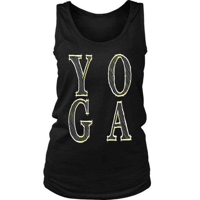 YOGA District Women's Tank Top - And Above All...YOGA