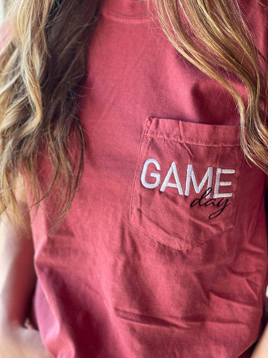 Game Day Pocket Tee