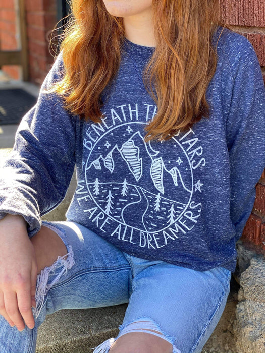 Beneath The Stars Snow Sweatshirt