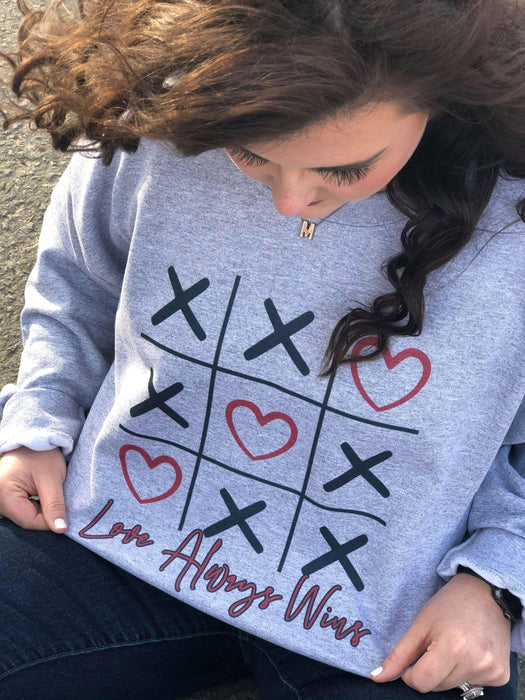 Tic Tac LOVE Sweatshirt