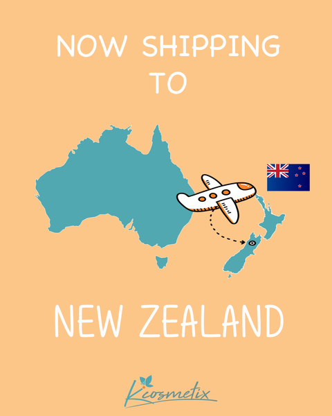 Now Shipping To New Zealand