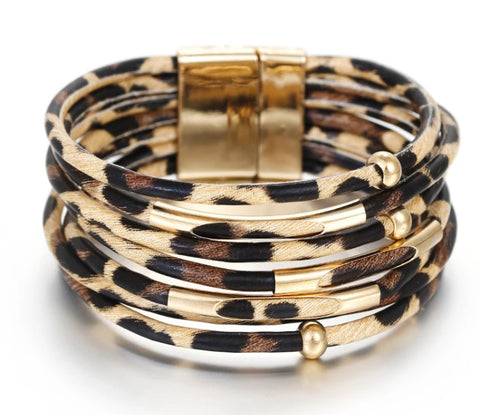 Warrior Princess - Multi Layer Cuff Bracelet