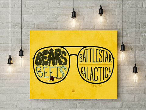 Bears, Beets, Battle Star Galactica