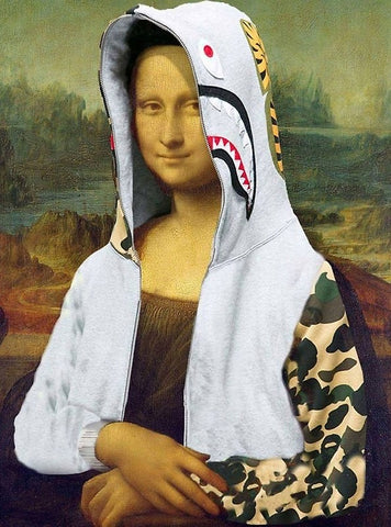 BATHING MONA LISA