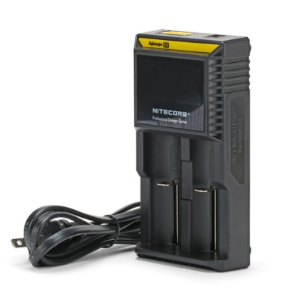 NITECORE D2 Digicharger LCD Screen Battery Charger