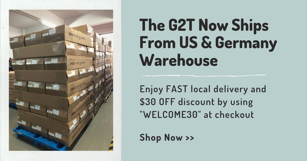Backfire G2T Now Offers FAST Local Delivery & $30 OFF Discount