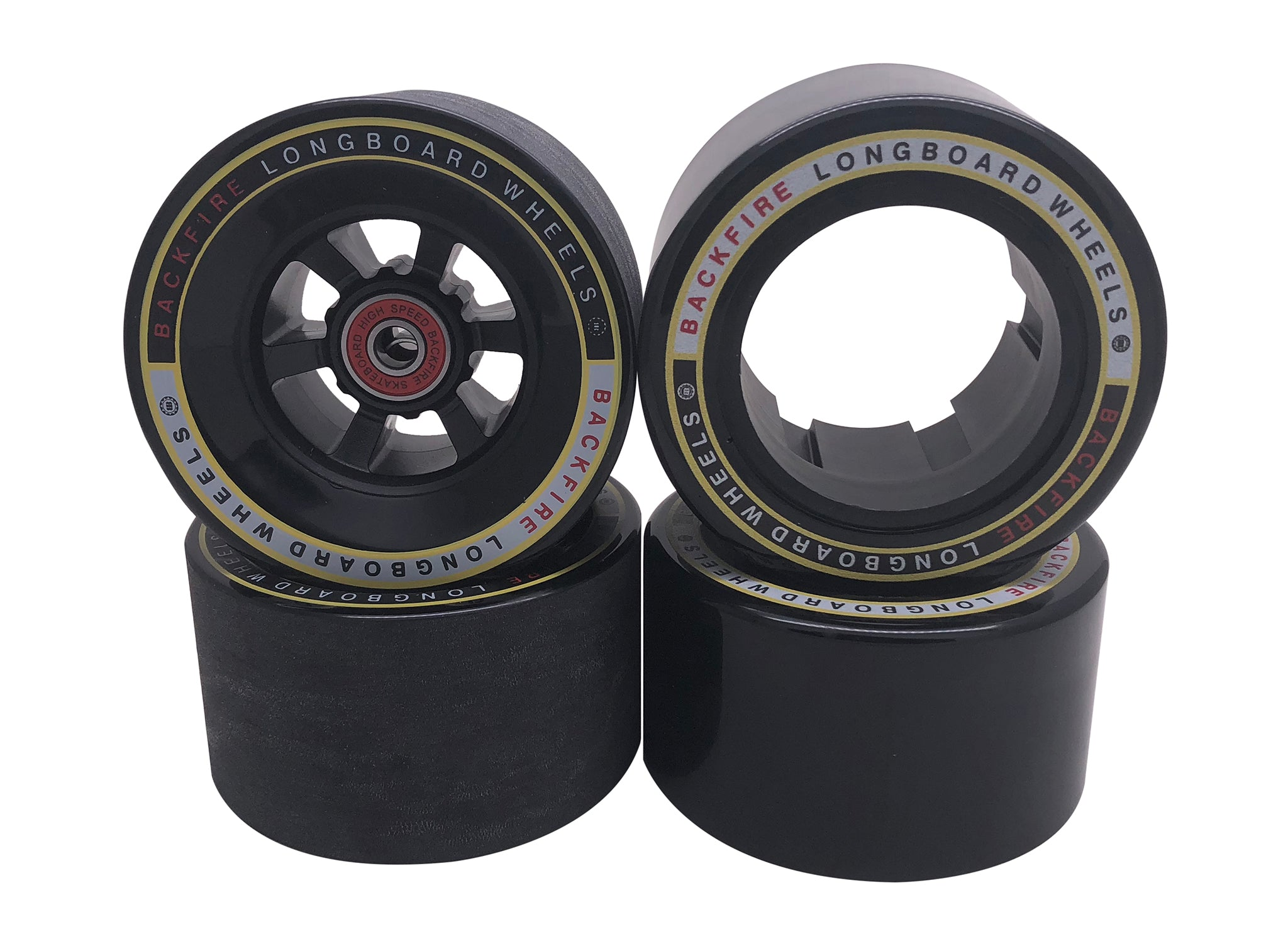 96mm Black Wheels