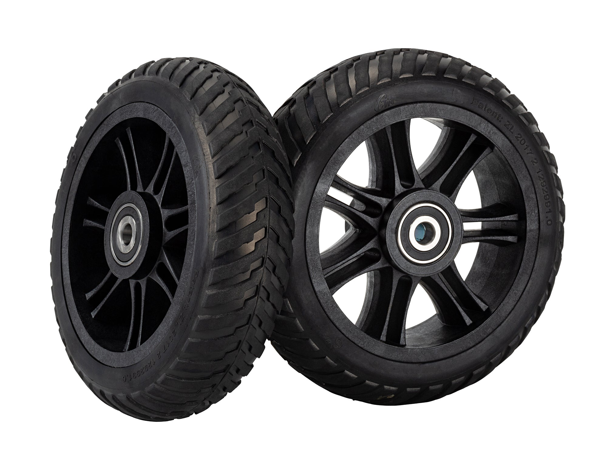 Aireless Rubber Tires