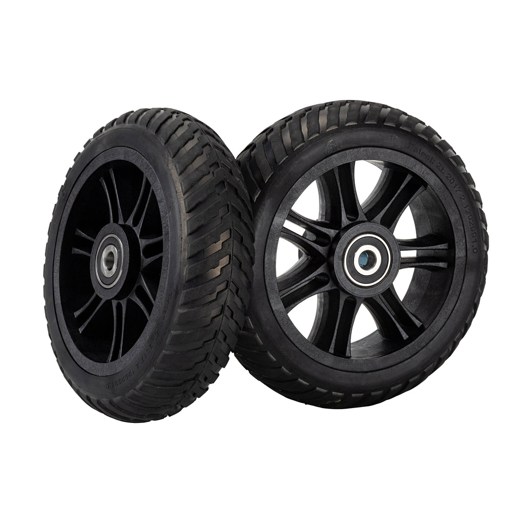 Honeycomb Aireless Rubber Tires for the Backfire Ranger X1 Electric Skateboard