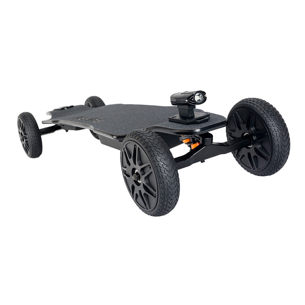 Backfire Ranger X1 All Terrain Electric Skateboard with R2 Wireless Remote (OLED Display) and 2.5a Faster Charger with 180 Days Warranty