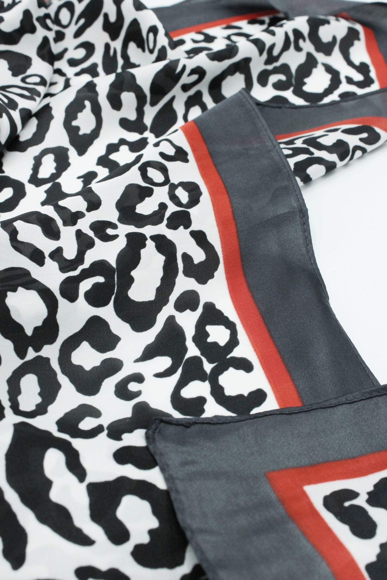 Animal Printed Foulard/Scarf
