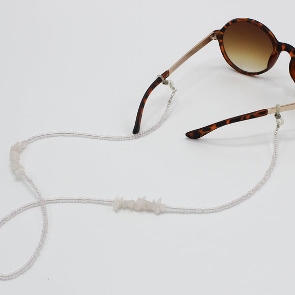 Rose Quartz Sunglasses Chain