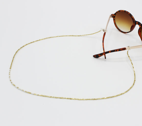 Morse Code Message Sunglasses Chain