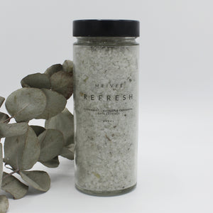 Refresh - Peppermint, Lavender & Cardamom Bath Crystals