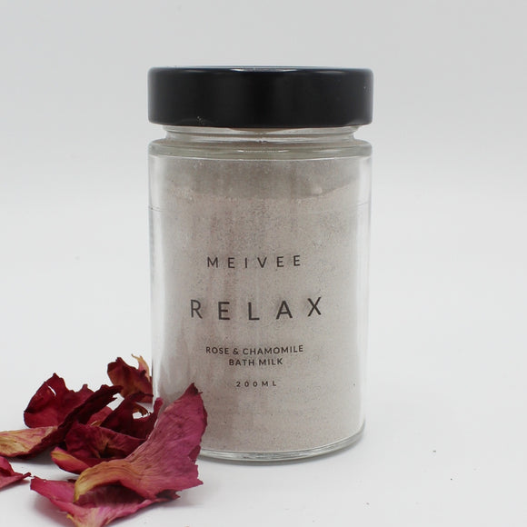 Relax - Rose & Chamomile Bath Milk