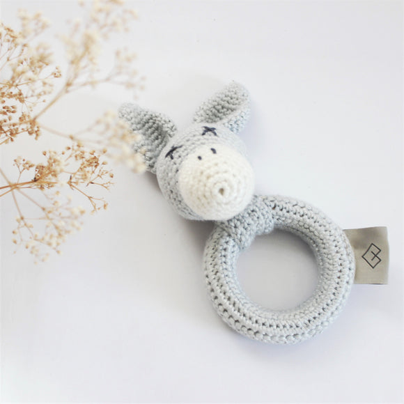 Grey Donkey Rattle