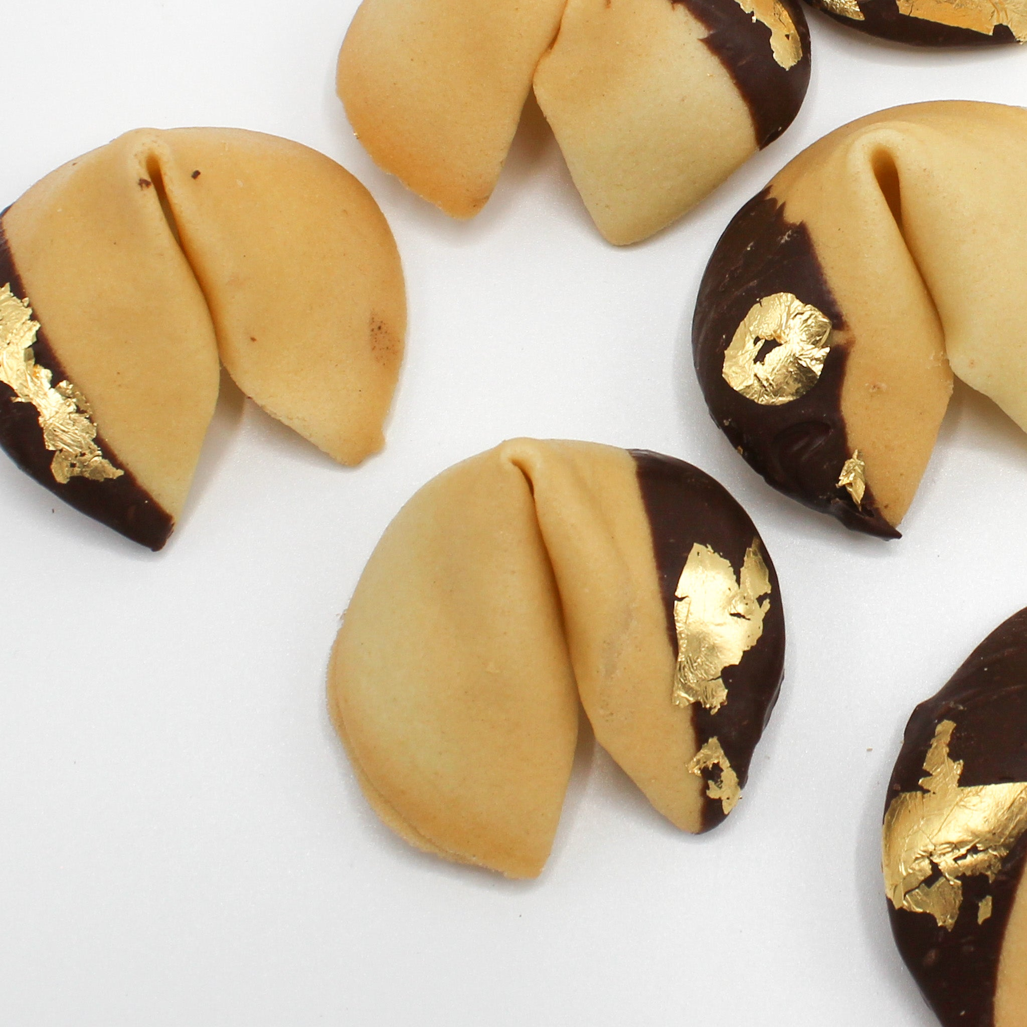 Fortune Cookies with Custom Messages - Foiled