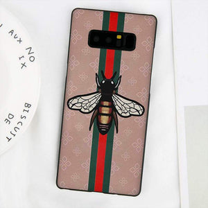 low priced fd41e 12cfc bee gucci galaxy note 8 cases
