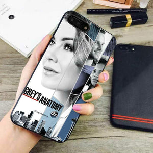 new concept afbf8 9d382 grey anatomy series iphone iphone 8 plus cases