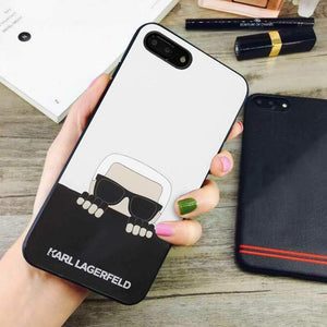 buy popular f34b8 7712c karl lagerfeld curious iphone iphone 8 plus cases