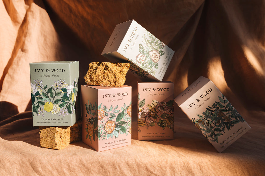 Ivy & Wood Candles: Botanical Range