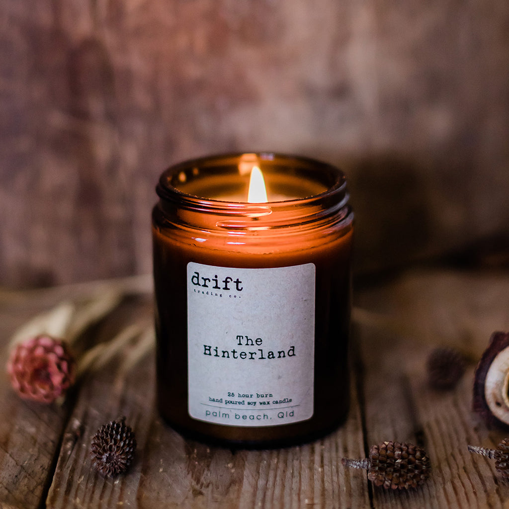 Hinterland Drift Trading Co. Candle