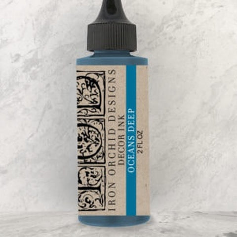 "IOD Decor Ink ""Ocean's Deep"" 2 fl oz - Savage Finds"