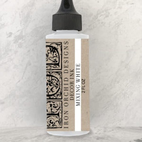 "IOD Decor Ink ""Mixing White"" 2 fl oz - Savage Finds"