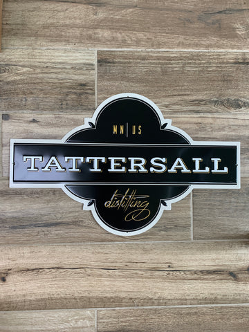 Original Metal Liquor Sign - TATTERSALL Distilling MN US