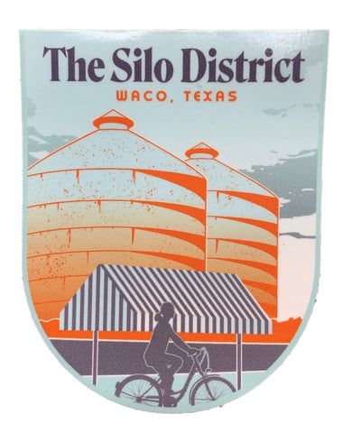 "3"" Waco, Texas, The Silo District Sticker - Savage Finds"