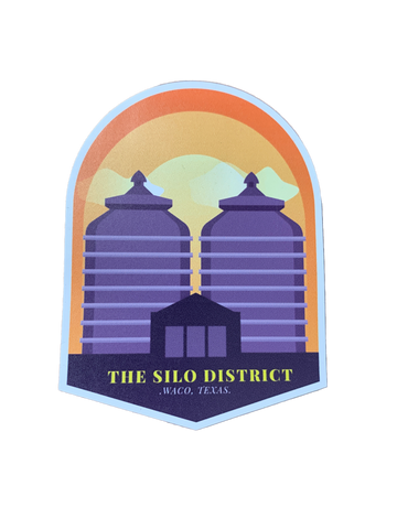 "3"" Waco, Texas, The Silo District Magnet - Savage Finds"