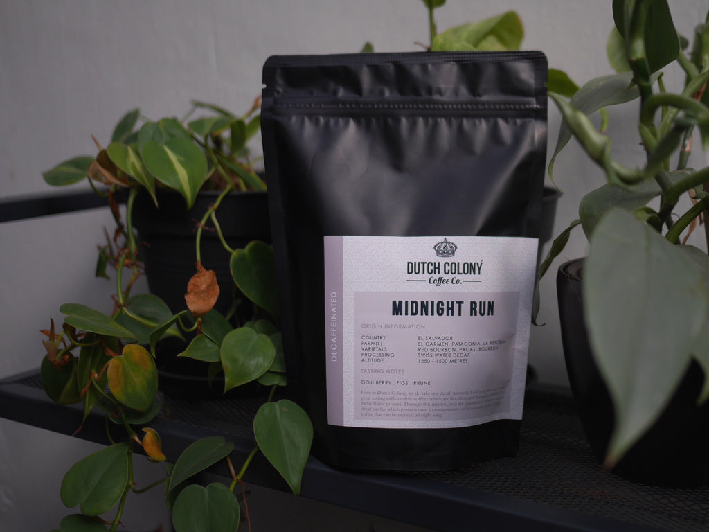 New Decaffeinated Coffee: Midnight Run