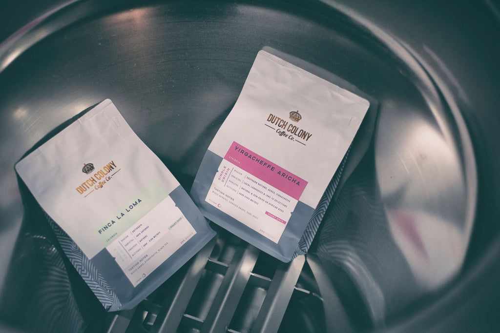New Single Origin Coffee: Colombia Finca La Loma & Ethiopia Yirgacheffe Aricha