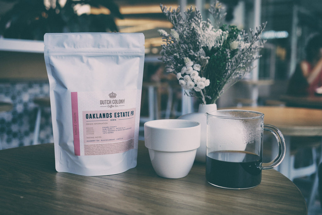 New Single Origin Coffee: Kenya Oaklands Estate PB