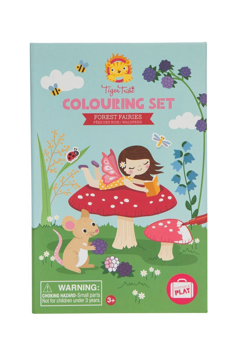 Tiger Tribe- Forest Fairies Colouring Set