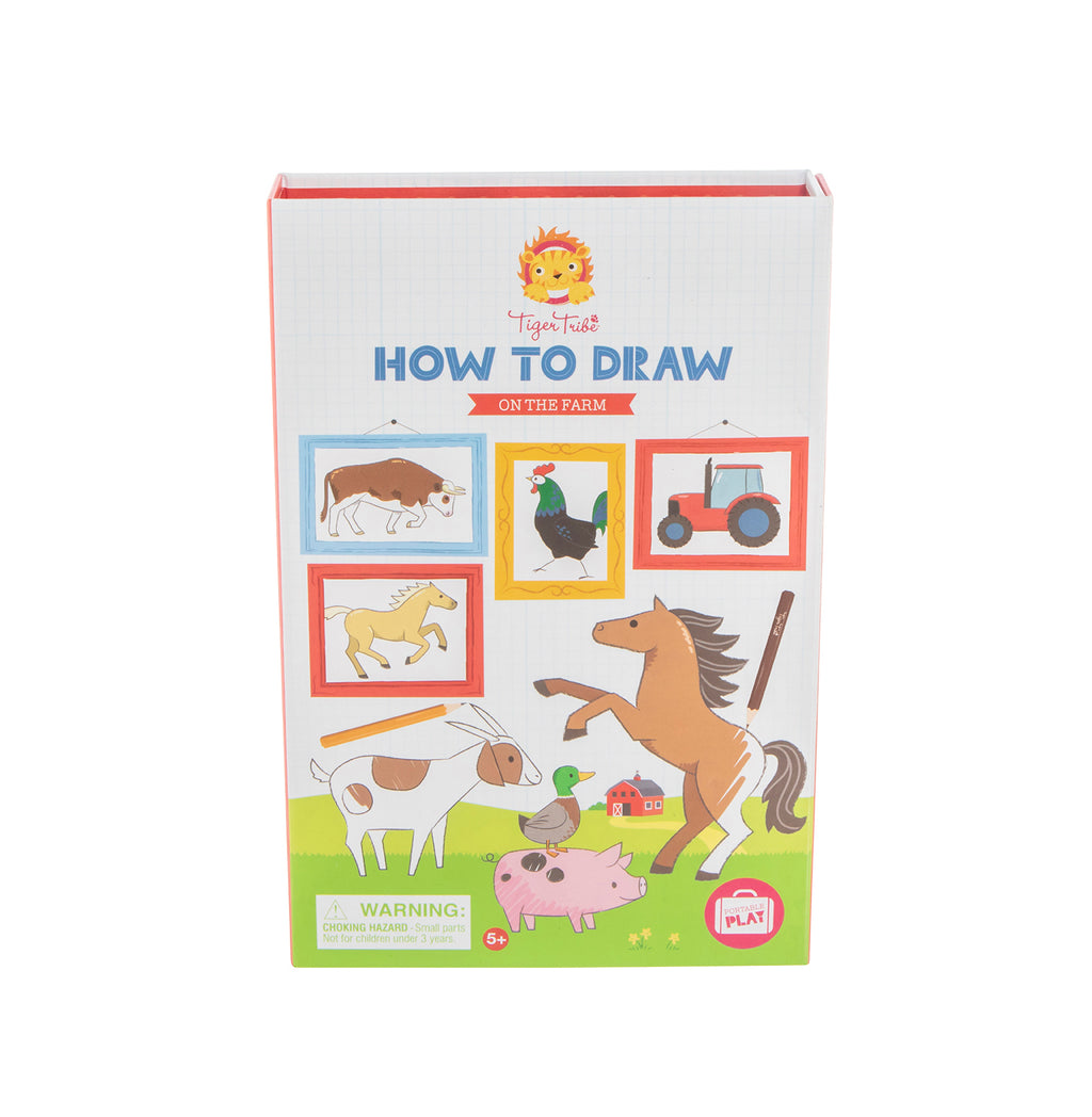 Tiger Tribe- How to Draw- On The Farm