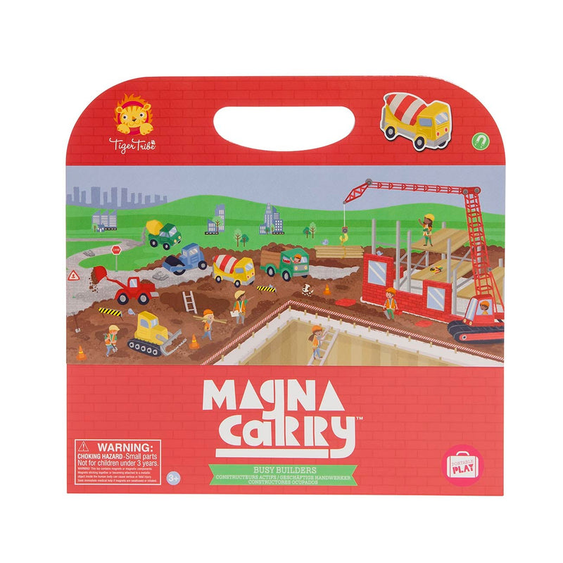 Tiger Tribe- Magna Carry Busy Builders