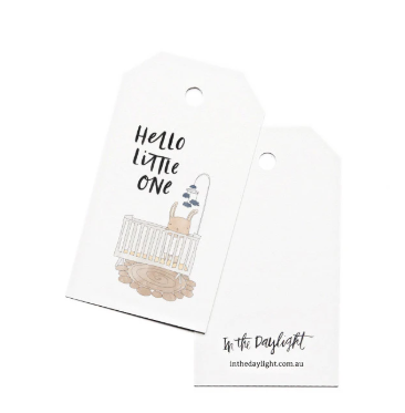 In The Daylight Gift Tags - Baby Crib