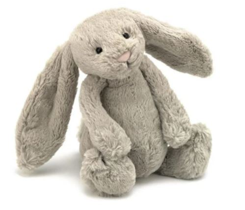 Jellycat- Bashful Bunny Small-Beige