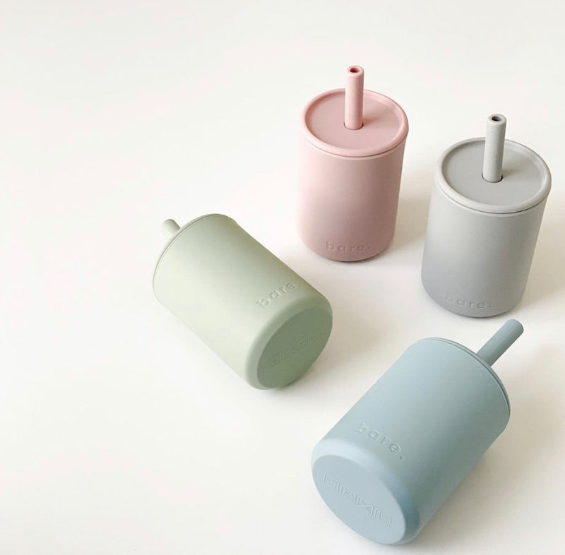 Bare.-The Label- Silicone Straw Cup