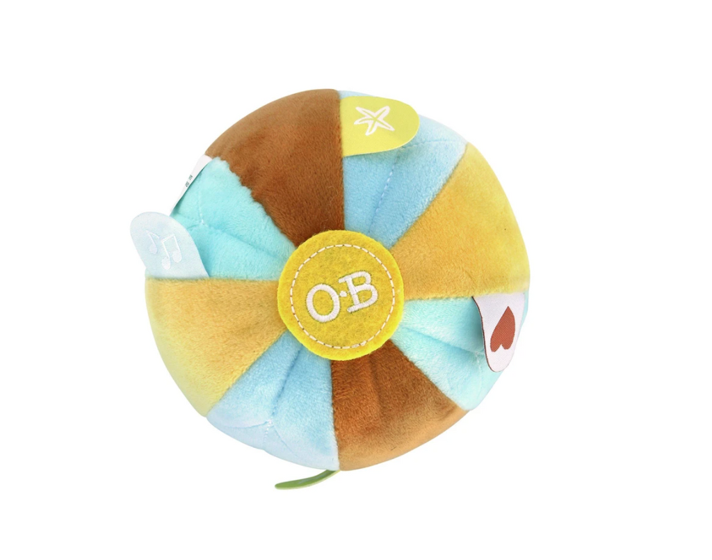 O.B Designs - Sensory Balls- Autumn Blue