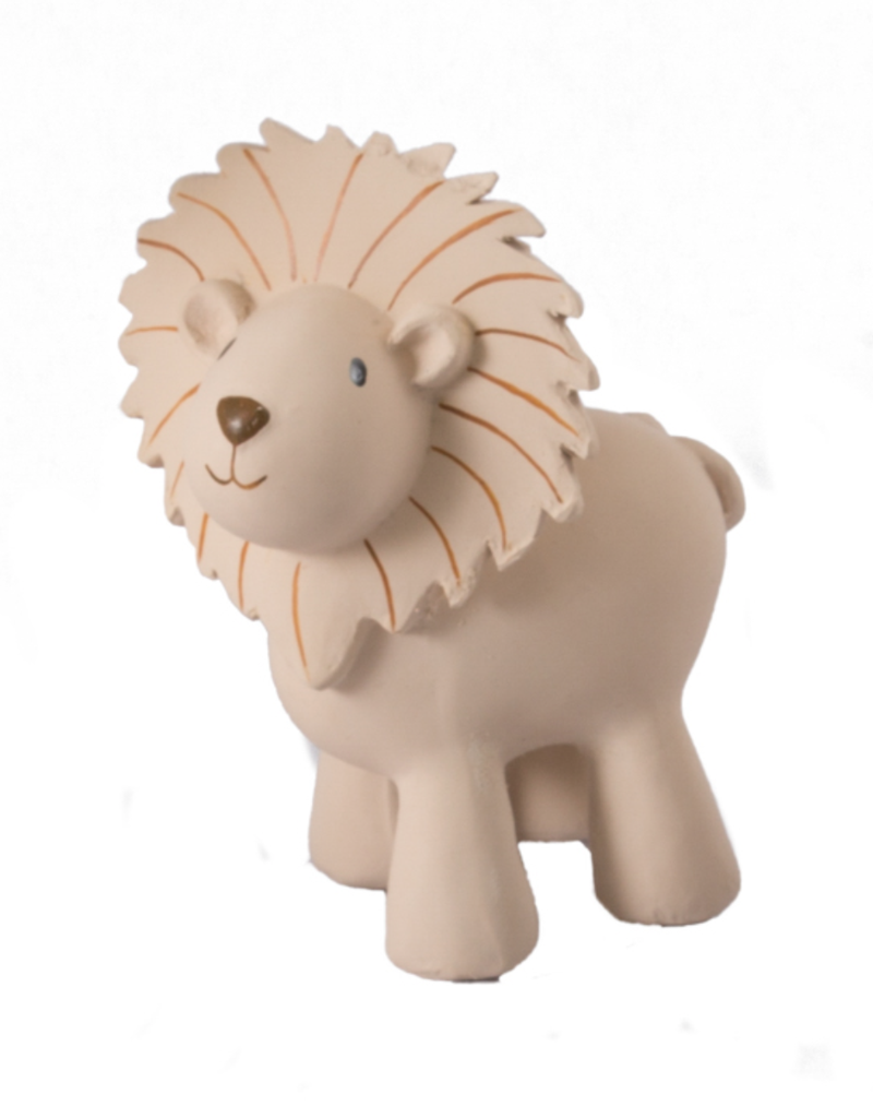 Tikiri Rubber Zoo Animal Teether- Lion