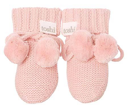 Toshi- Organic Booties Marley - Cashmere