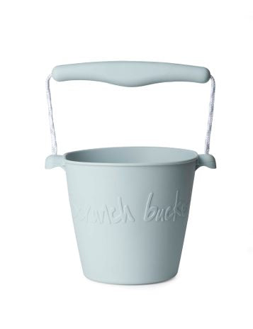 Scrunch- Bucket- Duck Egg Blue