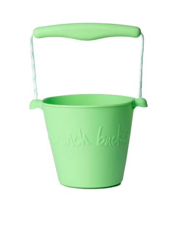 Scrunch- Bucket- Pastel Green