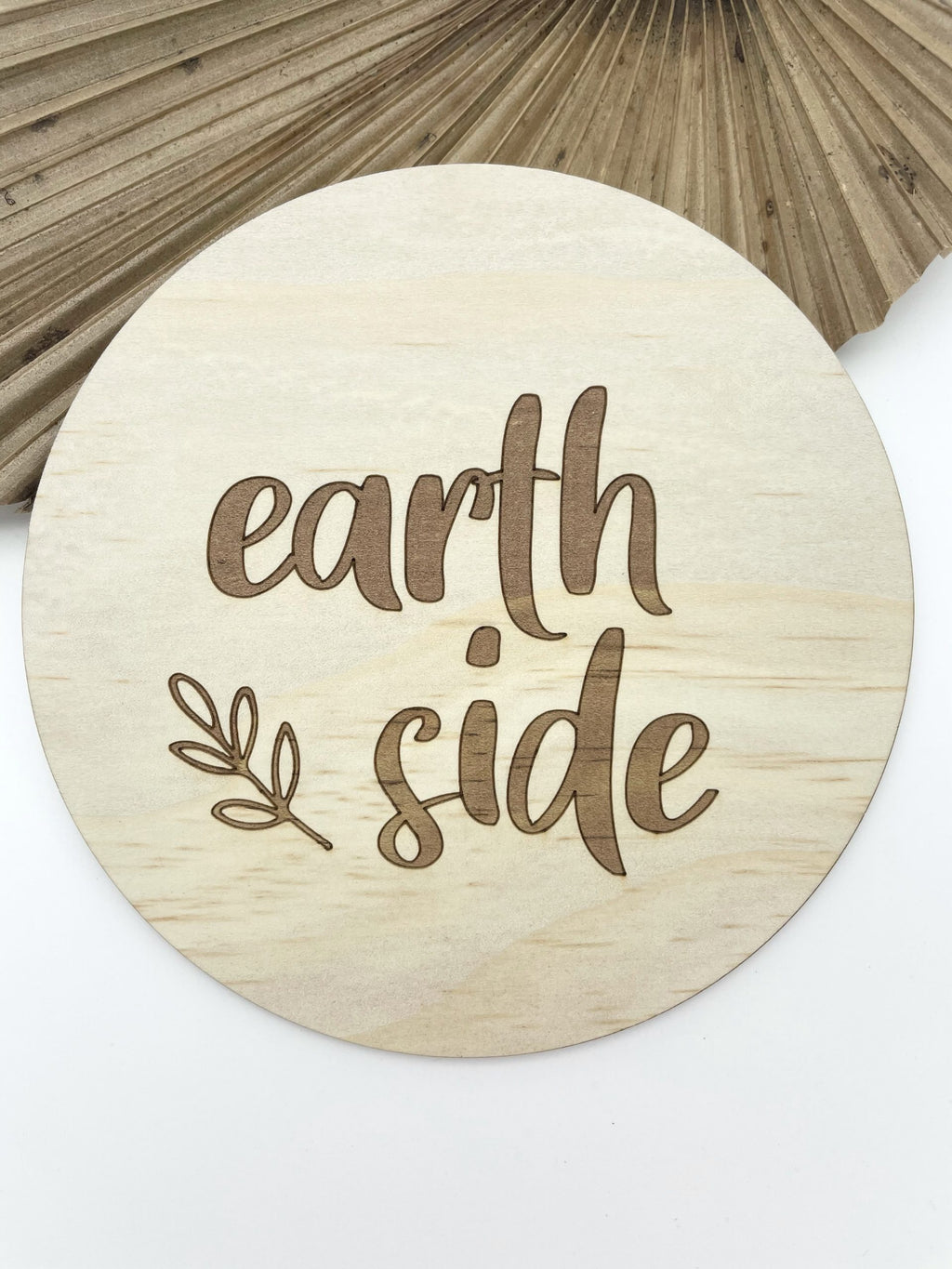 Timber Tinkers- Earthside Wooden Plaque