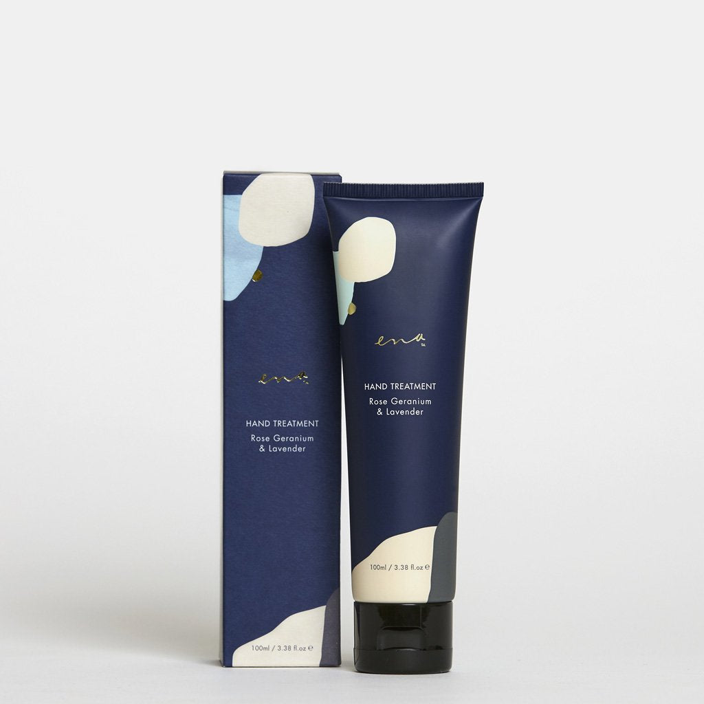 Ena Products- Hand Treatment - Rose Geranium & Lavender