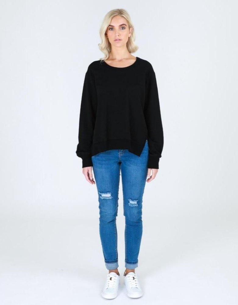 3rd Story The Label Ulverstone Sweater- Black